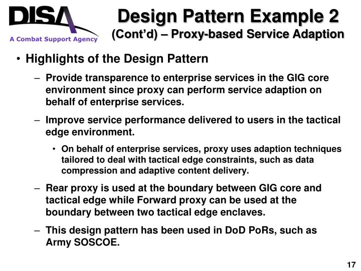 Design Pattern Example 2