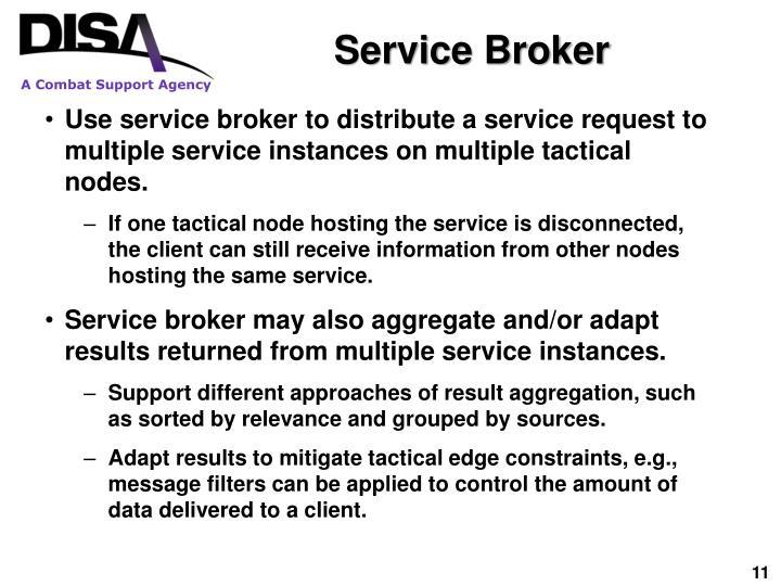 Service Broker