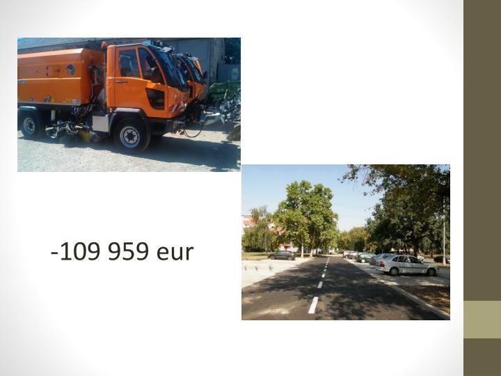-109 959 eur