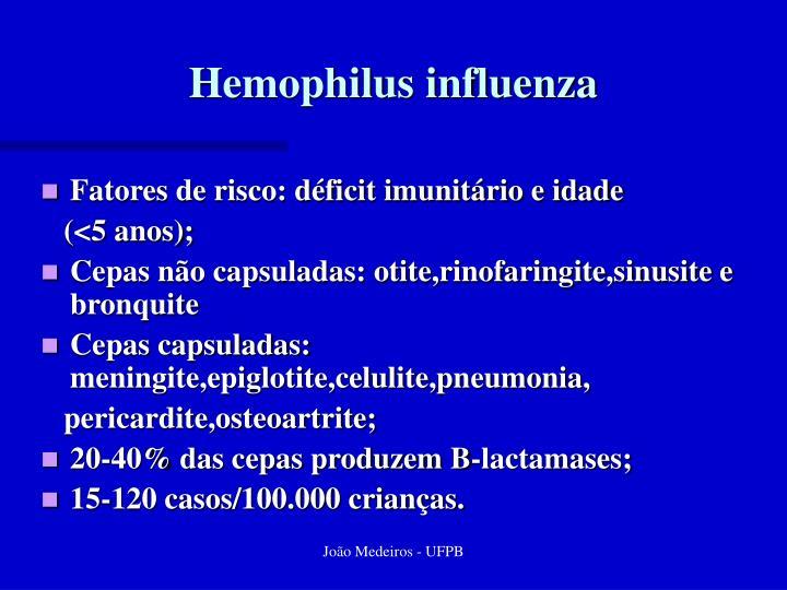 Hemophilus influenza