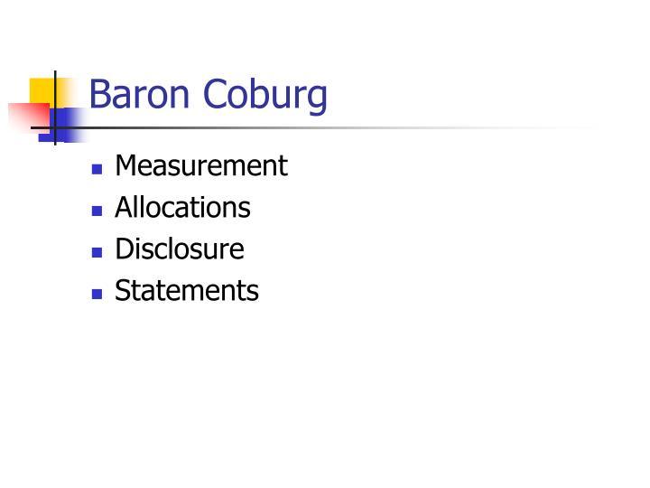 Baron Coburg