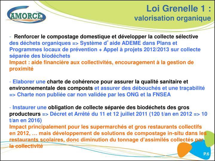 Loi Grenelle