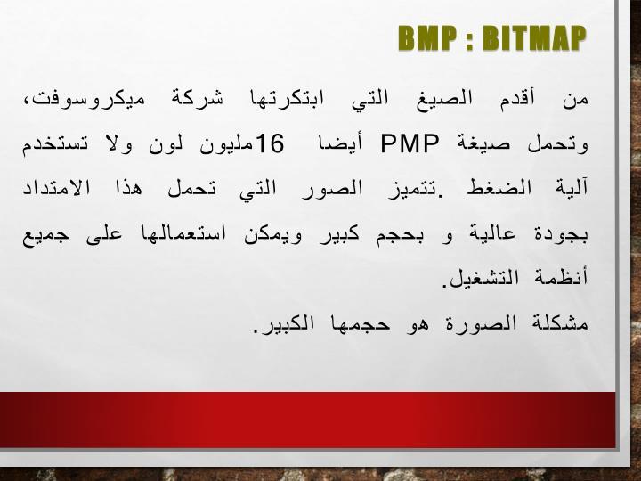 BMP : Bitmap