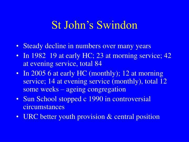 St John's Swindon