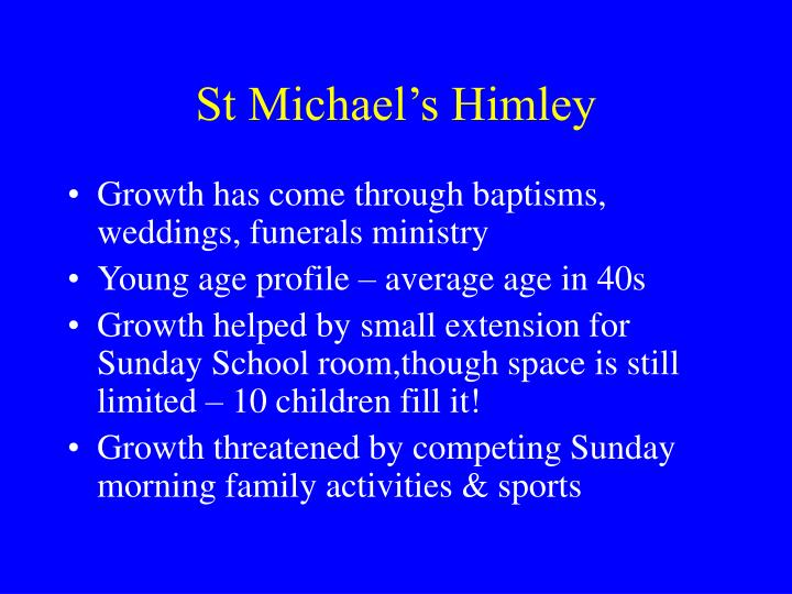 St Michael's Himley