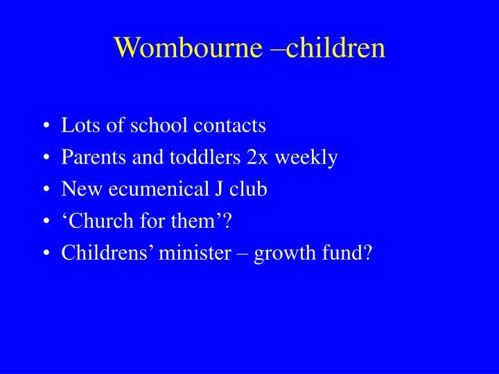Wombourne –children