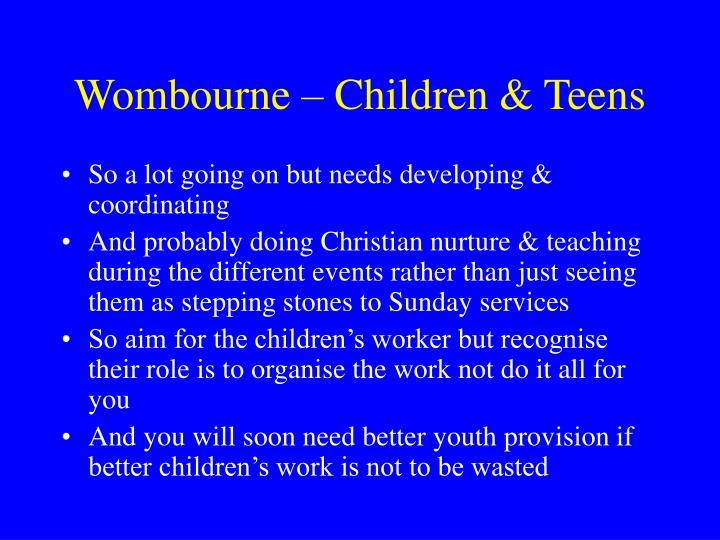 Wombourne – Children & Teens