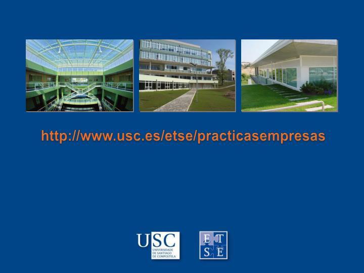 http://www.usc.es/etse/practicasempresas