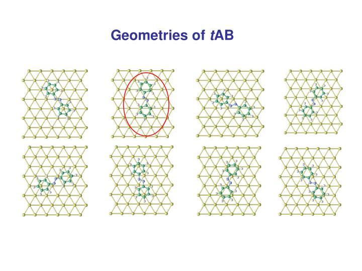 Geometries of