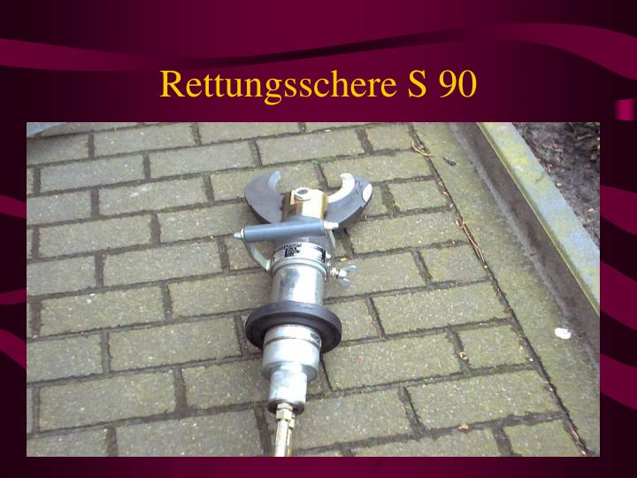 Rettungsschere S 90