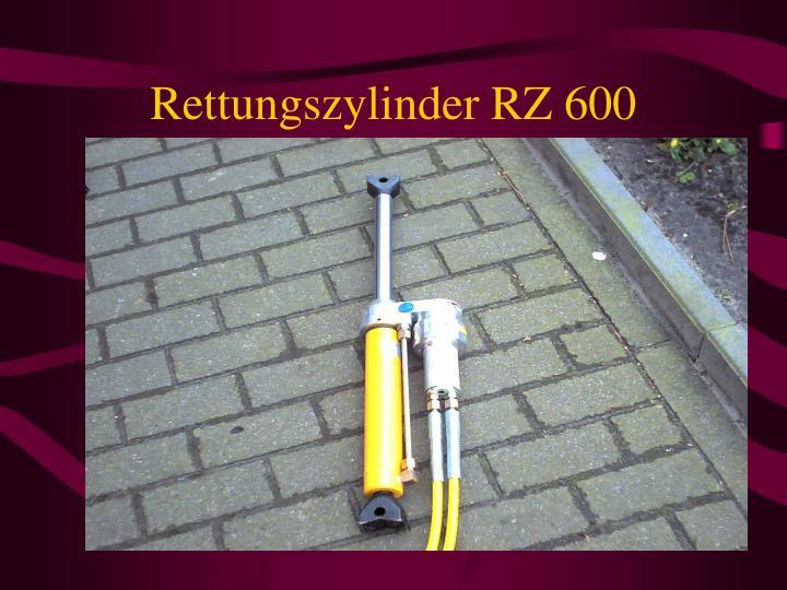 Rettungszylinder RZ 600
