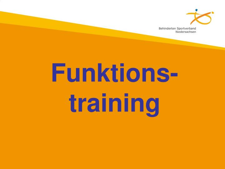 Funktions-training