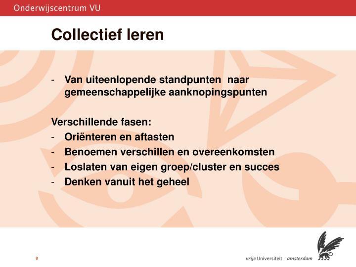 Collectief leren