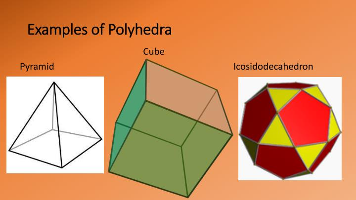 Examples of polyhedra