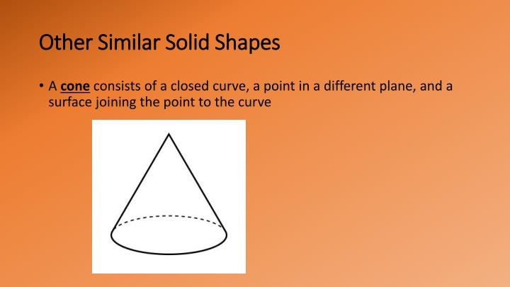 Other Similar Solid Shapes