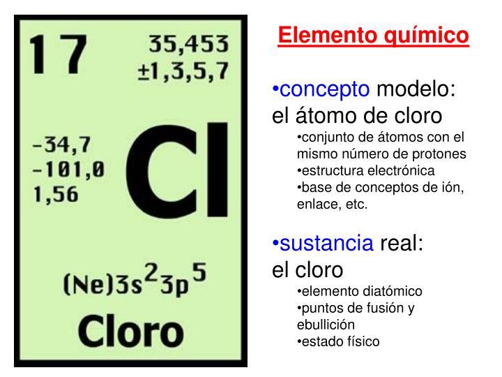 Elemento químico