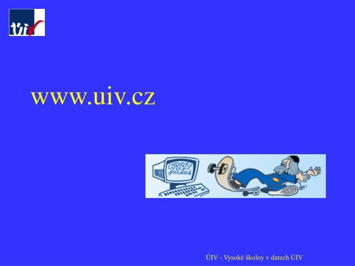www.uiv.cz