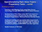 operationalising rajiv awas yojana preparatory tasks contd1