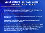 operationalising rajiv awas yojana preparatory tasks contd2