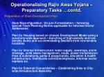 operationalising rajiv awas yojana preparatory tasks contd3