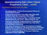 operationalising rajiv awas yojana preparatory tasks contd4
