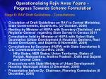 operationalising rajiv awas yojana progress towards scheme formulation1