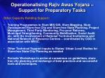 operationalising rajiv awas yojana support for preparatory tasks5