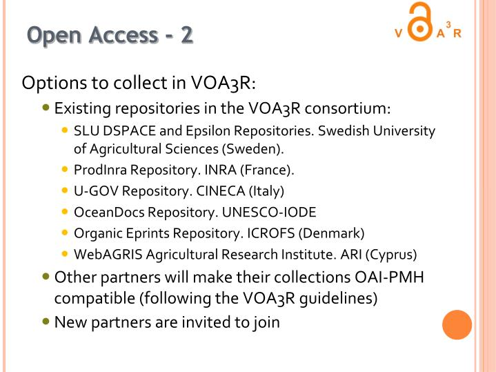 Open Access - 2
