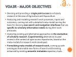 voa3r major objectives