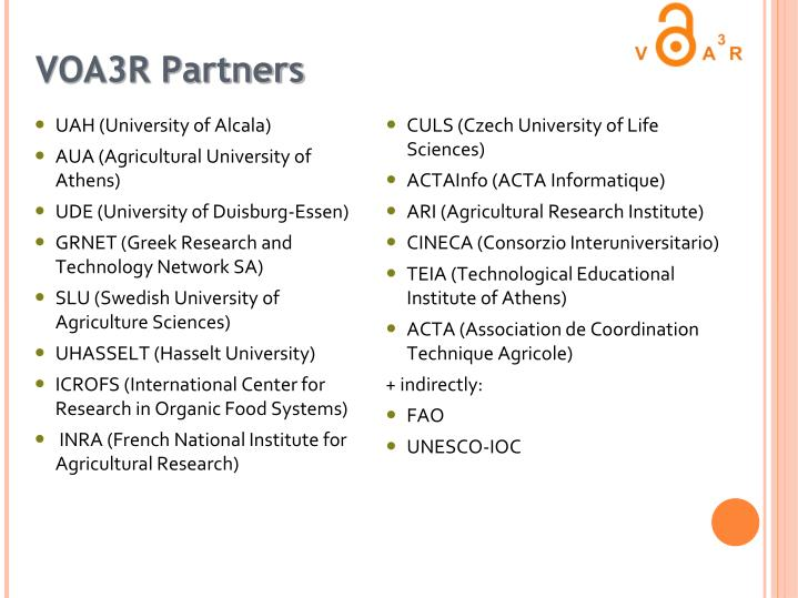 VOA3R Partners
