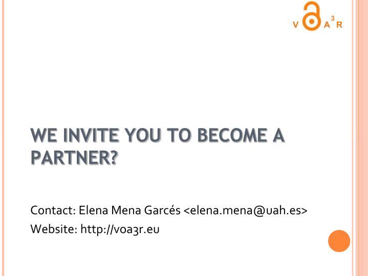 Contact: Elena Mena Garcés <elena.mena@uah.es>