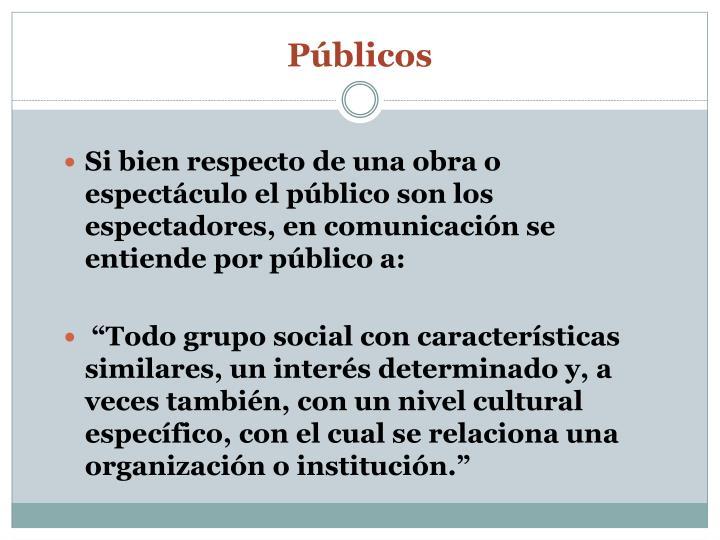Públicos