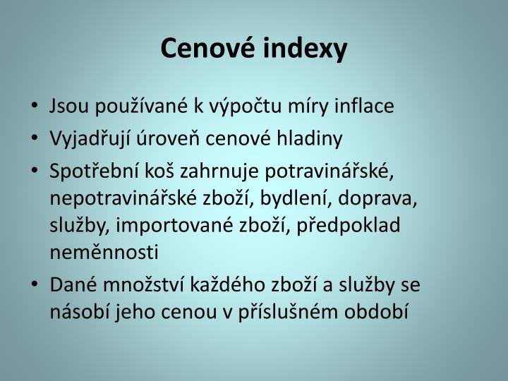 Cenové indexy
