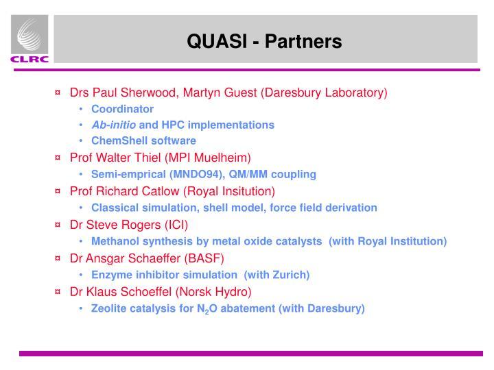 QUASI - Partners