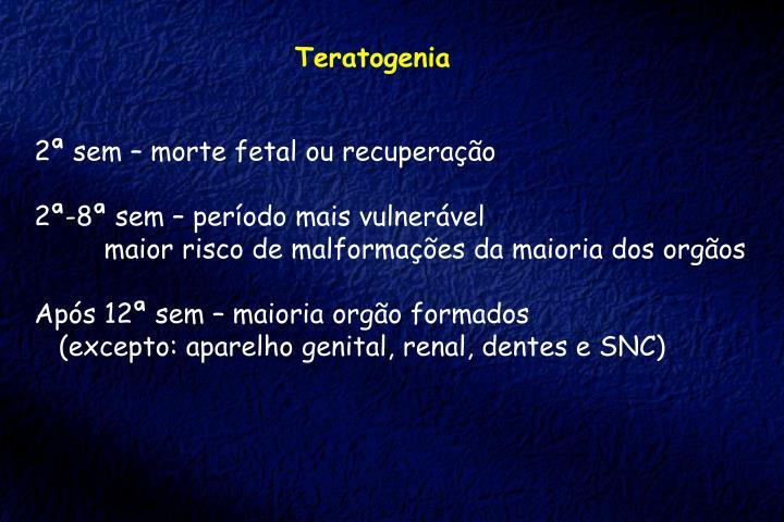 Teratogenia