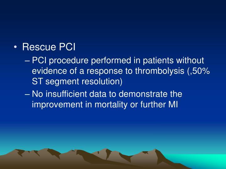 Rescue PCI