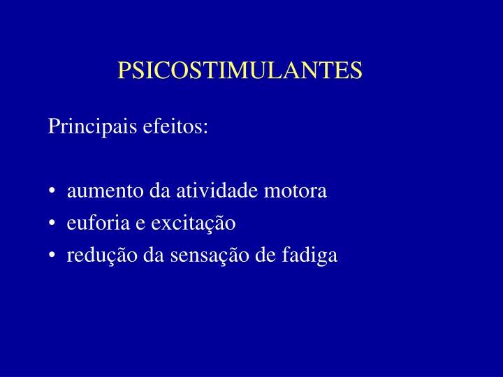 PSICOSTIMULANTES