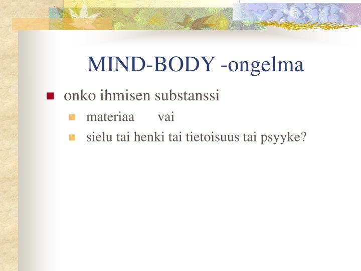 MIND-BODY -ongelma