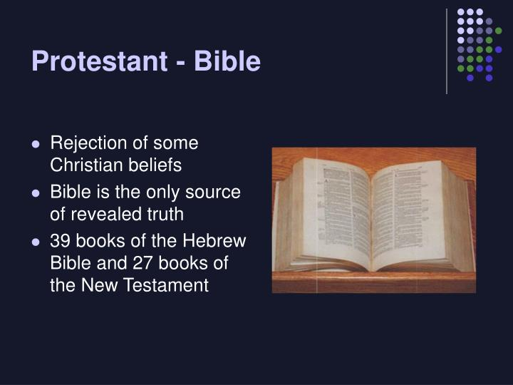 Protestant - Bible