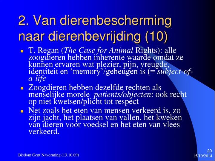 2. Van dierenbescherming naar dierenbevrijding (10)