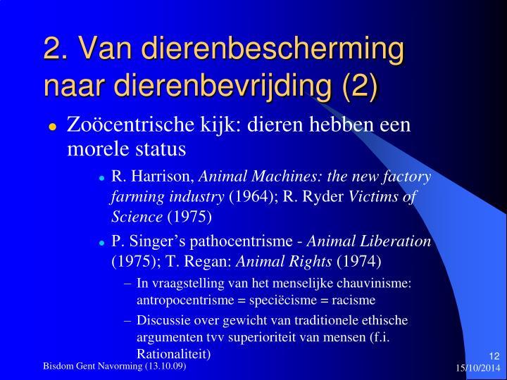 2. Van dierenbescherming naar dierenbevrijding (2)