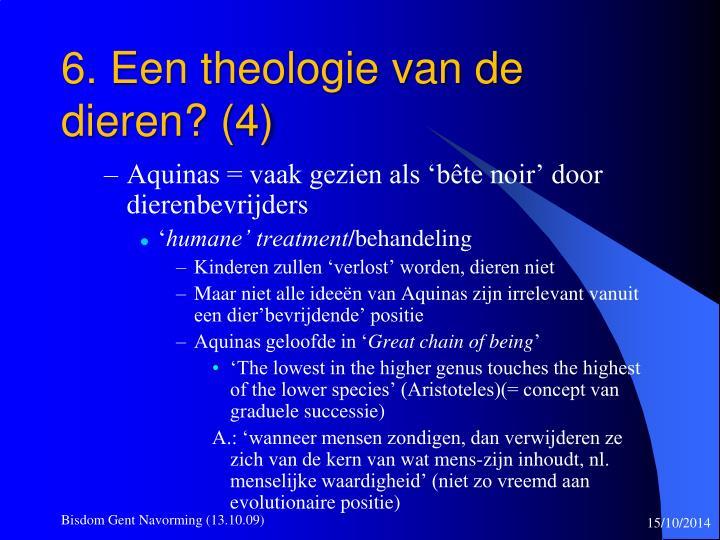 6. Een theologie van de dieren? (4)
