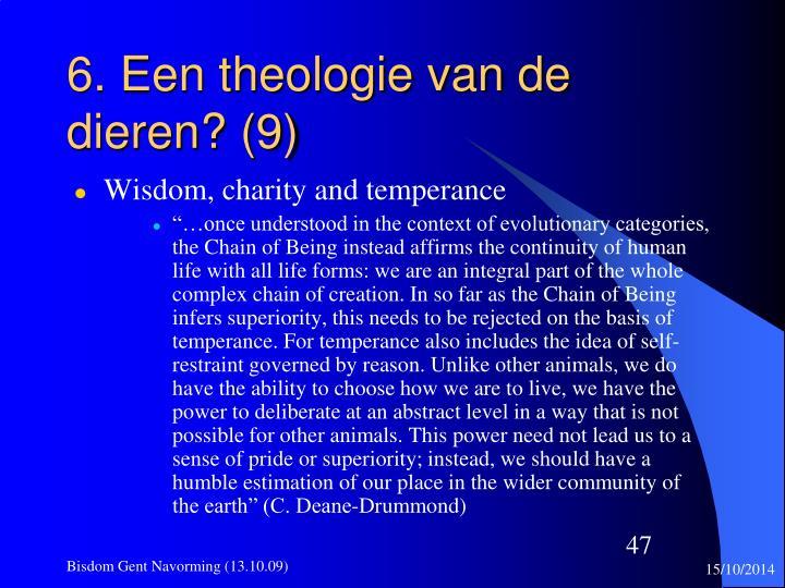 6. Een theologie van de dieren? (9)