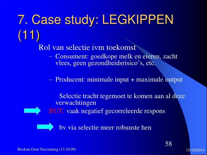 7. Case study: LEGKIPPEN (11)