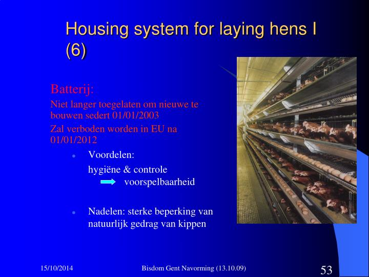 Housing system for laying hens I (6)