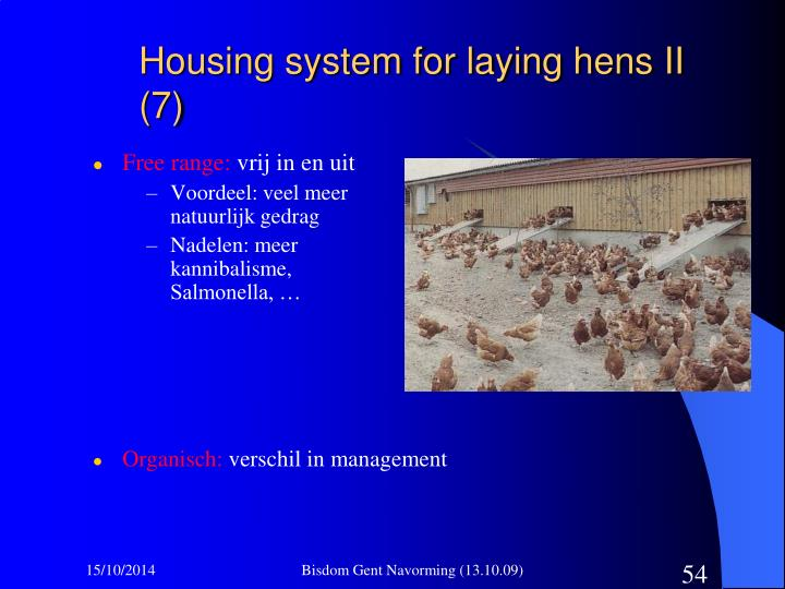 Housing system for laying hens II (7)