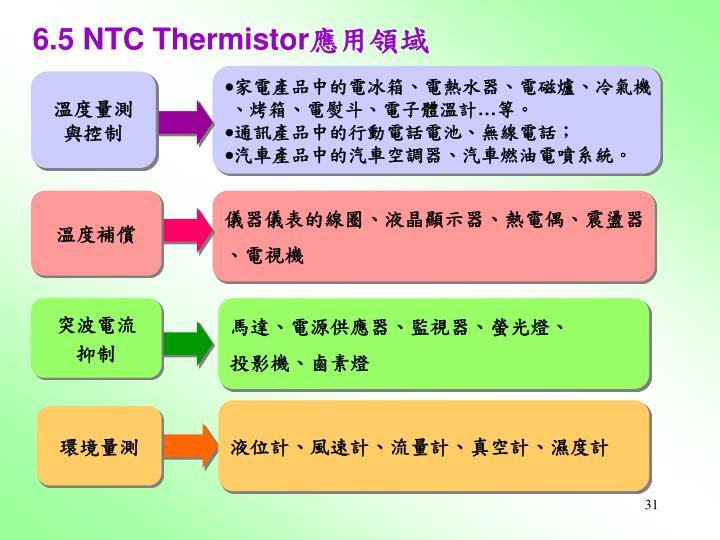 6.5 NTC Thermistor
