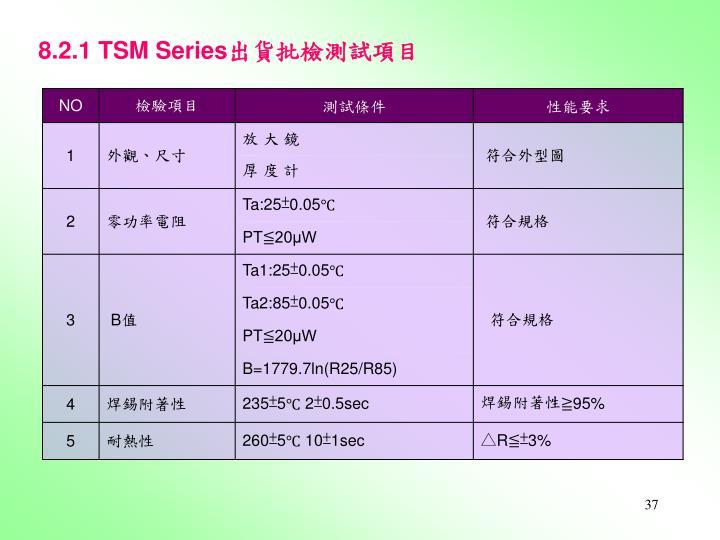 8.2.1 TSM Series