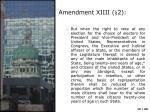 amendment xiiii 21