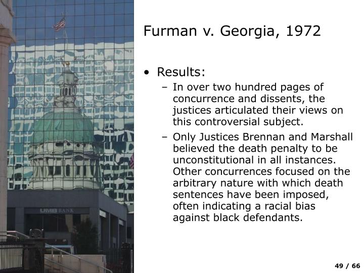 Furman v. Georgia, 1972